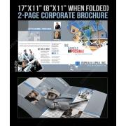 corporate brochure template, construction industry, engineering, planning