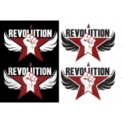 revolution logo templates, logo design template