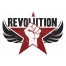 revolution logo design template