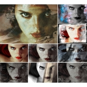 grunge and scratched look for photos, grunge effect for photos
