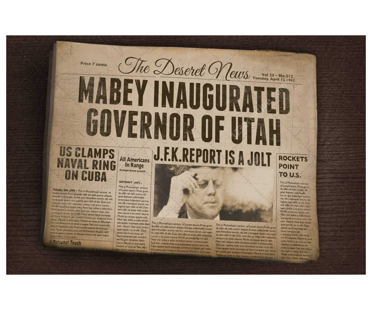 Vintage Newspapers Vintage Newspaper Mockup