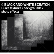 Black and white scratch texture backgrounds, high resolution black textures