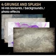 High resolution grunge and splash textures, high resolution subtle grunge textures