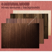 4 Natural wood textures (high resolution)