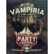 horror flyer template design, vampire flyer template psd