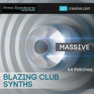 Blazing Club Synths - Massive patches