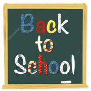 back to school vector art, blackboard vector back to school