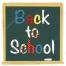 back to school vector art, blackboard vector back to school