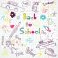 childrens school vector symbols, math vector, funny learning vectors