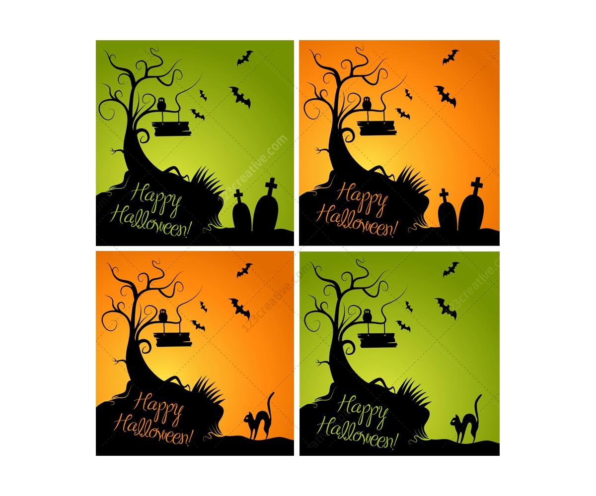 Halloween Vectors transparent backed png halloween vectors Halloween Vector Illustrations Happy Halloween Vector Graphics