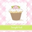 sweet muffin vectors, greeting card vector, bakery shop muffin vectors