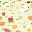 kitchen seamless vector pattern, retro seamless pattern