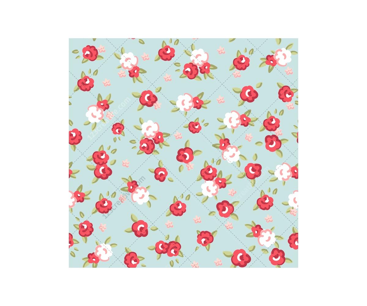 Vintage Rose pattern vectors - seamless rose patterns ...