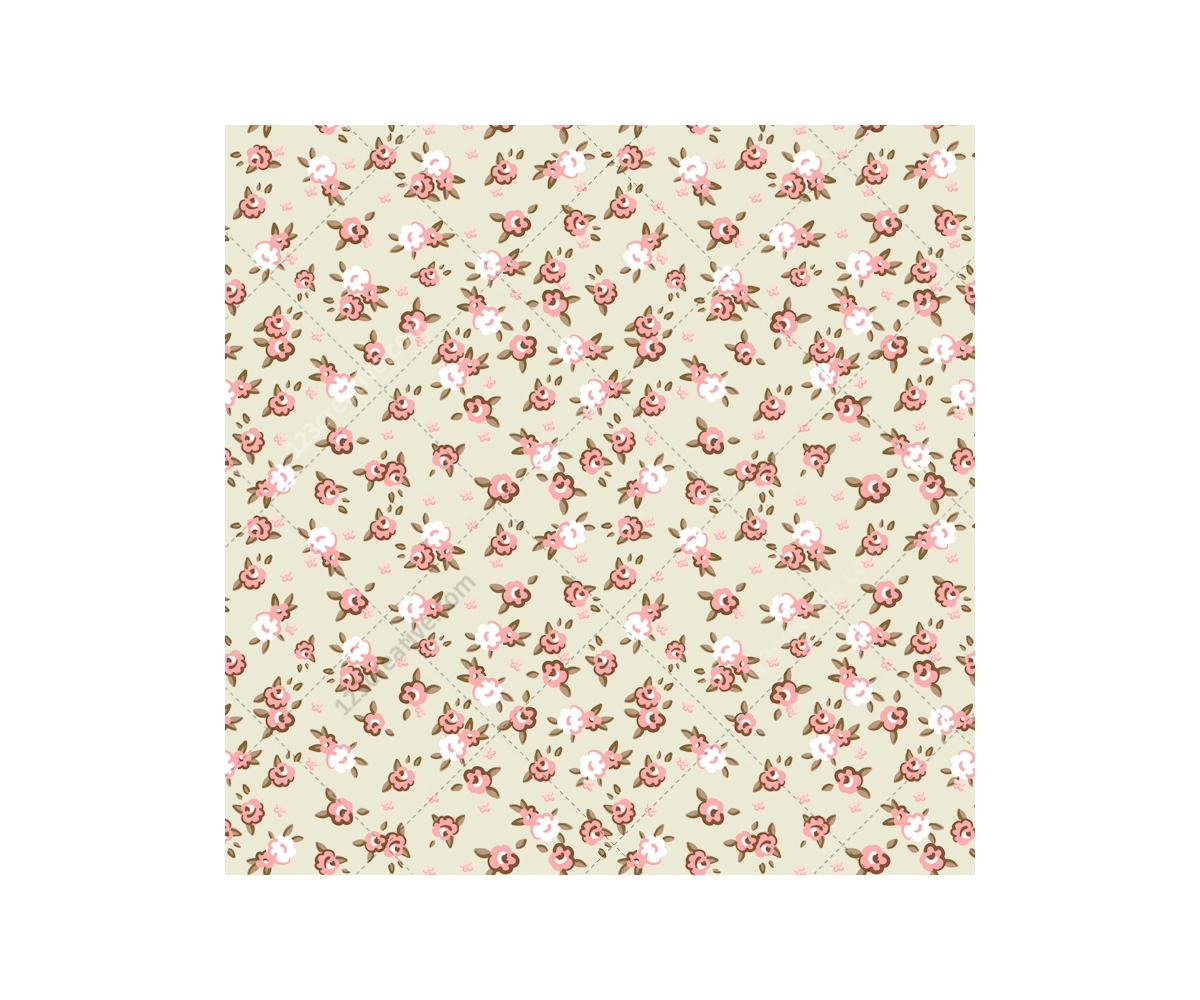 Vintage Rose Pattern Vectors