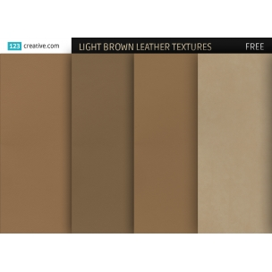 FREE Light brown leather textures (high resolution)