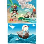 pirate adventure vector illustration, pirate vectors, treasure hunt vector graphics