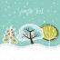 christmas tree vector, winter holidays motives, merry christmas vectors