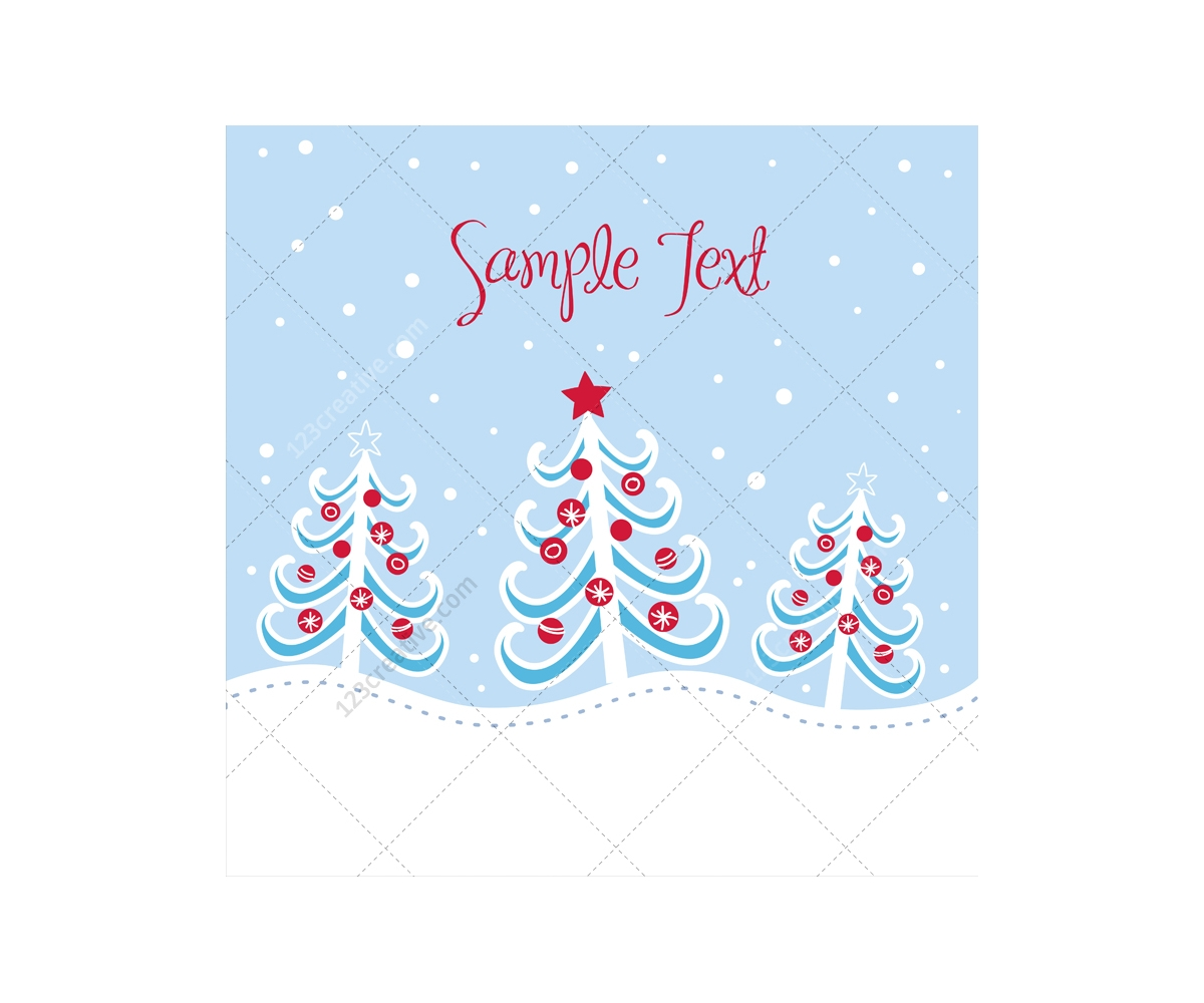 Graphic Christmas Tree