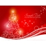 christmas greeting cards, red christmas card vector