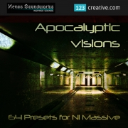 dark ambient massive patches, atmosphere massive presets, Apocalyptic Visions - Massive presets