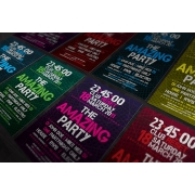 Amazing party flyer template, electro dj party flyer, disco club dance flyer