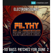 bass presets for Dune 2 synthesizer