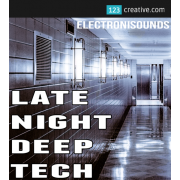Late Night Deep Tech Sample pack, deep house samples, tech house loops