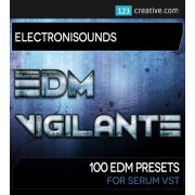 xfer serum presets, serum synth bank, EDM Vigilante presets for Serum software synth