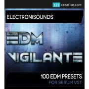 xfer serum presets, serum synth bank, EDM Vigilante presets for Serum software synth