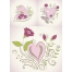 Beautiful Valentine heart vectors for greeting cards, hand drawing heart vectors