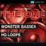 The One: Monster basses - haunting loops, dubstep loops and samples, glitch hop loops