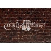 Brick wall logo mock-ups, grunge logo mockup