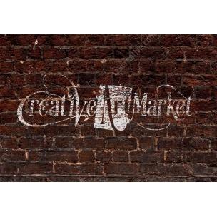 3 Brick Wall Logo Mock-Ups