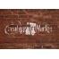 Paint logo on wall mockup, realistic brick wall mockup