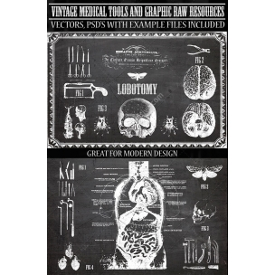 Vintage Medical Vectors