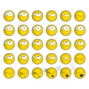smile vectors, cool smilies, smile vector graphics, smile avatar vector