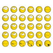 smile vectors, cool smilies, smile vector graphics, smile avatar vector