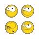 smile illustration, smile vector pack, cartoon smile vector, smile icon vector