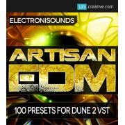 Dune 2 presets, synapse audio dune 2 synthesizer, Artisan EDM Dune 2 presets, dune 2 patches