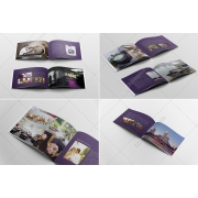 hotel brochure template, brochure template layout