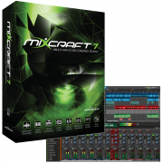 musicians DAW software, DAW plug-ins, Acoustica Mixcraft 7, Music production software