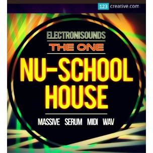 Nu-School House Pack (Massive presets, Serum presets, MIDIs, Loops, One-Shots)