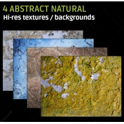 4 Abstract natural textures (high resolution)