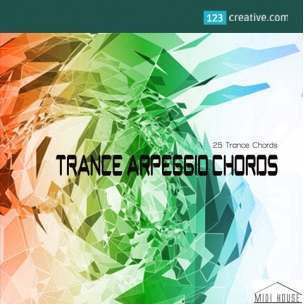 Trance Arpeggio Chords - Midi Construction Kit