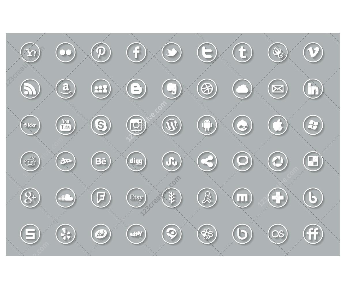 Twitter Icon Black Square