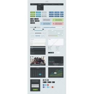 UI Korter - Modern flat User Interface