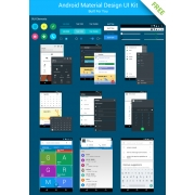 Android UI Kit free download, free Android UI, Android user interface free