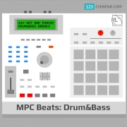 Drum & Bass beats, drum breaks, Drumfunk, Techstep, Liquid Funk loops, Akai MPC sounds