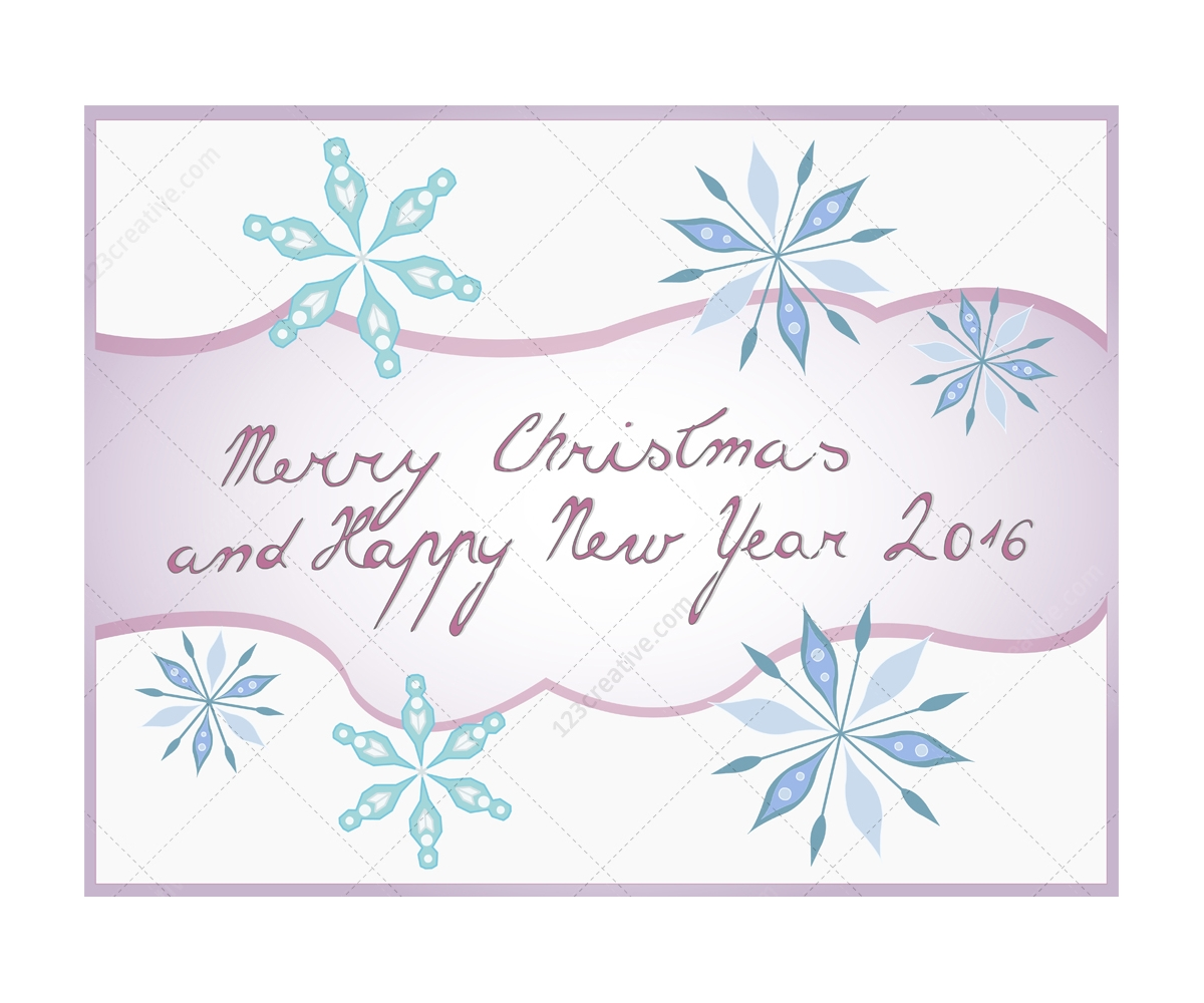Merry christmas and happy new year lettering christmas greeting merry christmas and happy new year lettering christmas greeting card illustrations m4hsunfo