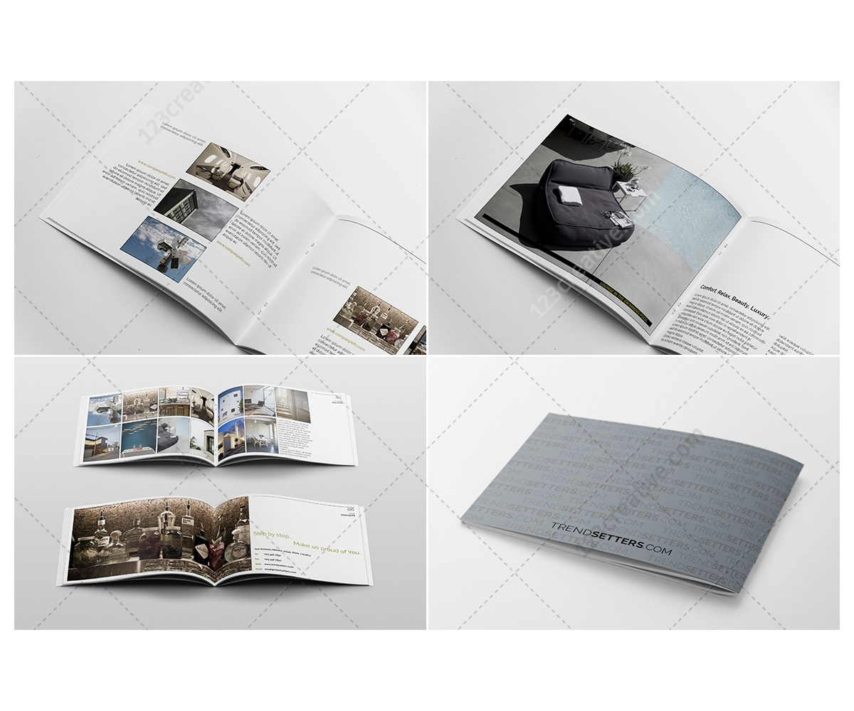 Modern Brochure Design Template Peellandfmtk - Brochure design templates indesign